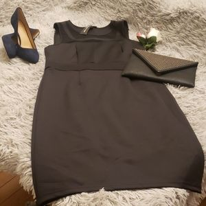 Spense Black Bodycon Dress